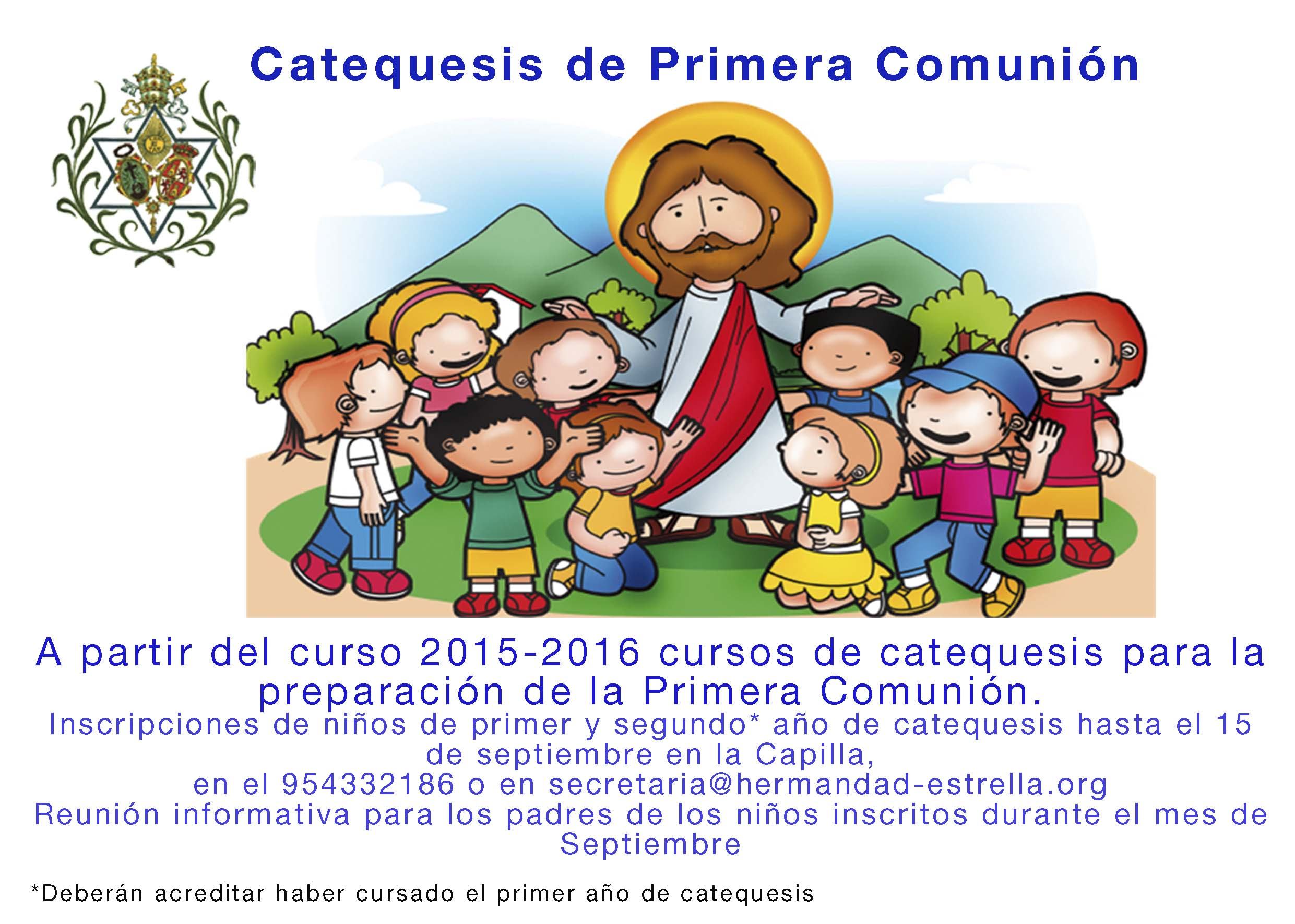 cartel comunion 2015